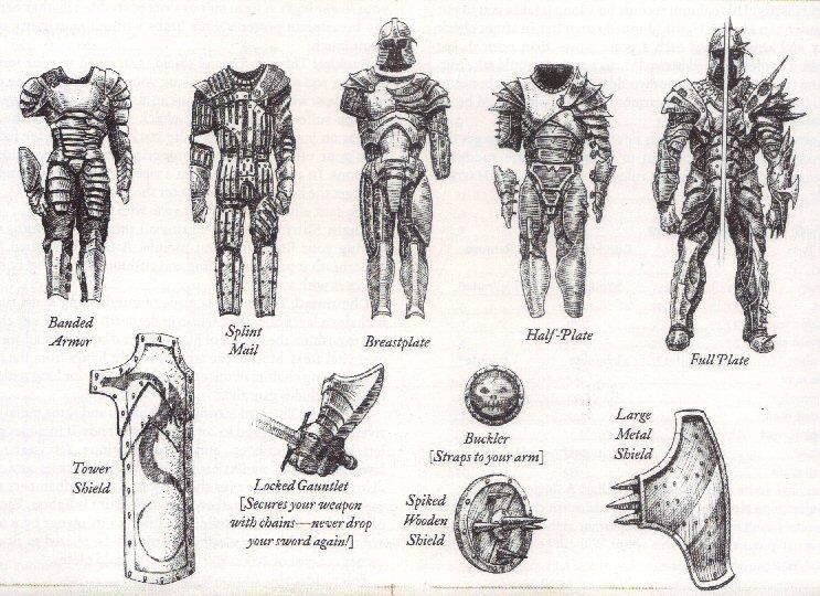 Arms, Armor, Attire and Artifacts DnDArmor3
