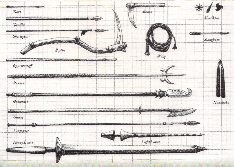 Arms, Armor, Attire and Artifacts DnDWeapons3