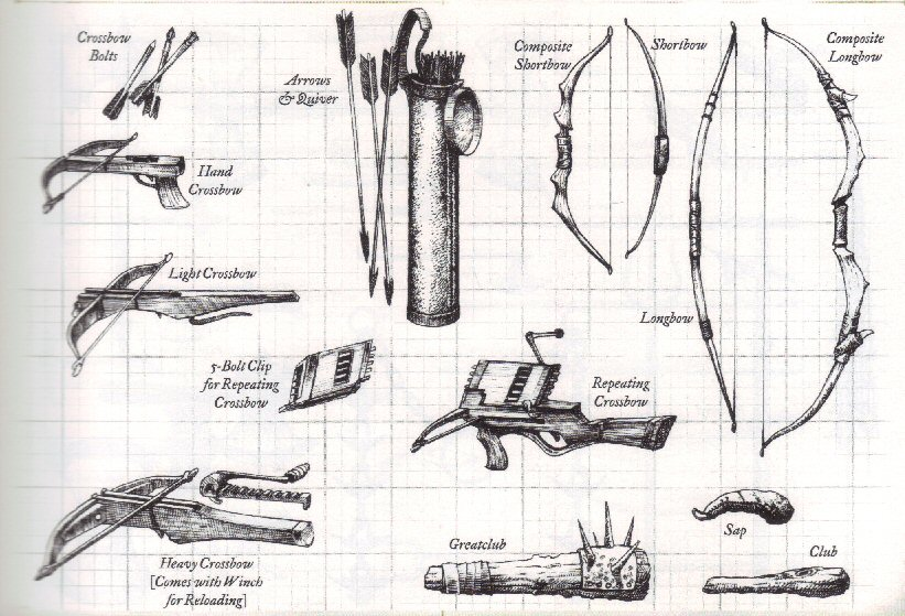 Arms, Armor, Attire and Artifacts DnDWeapons4