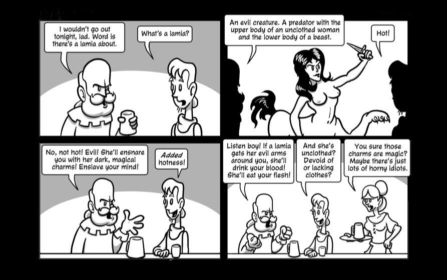 Fun with Dungeons & Dragons NamelessWebcomic01-01