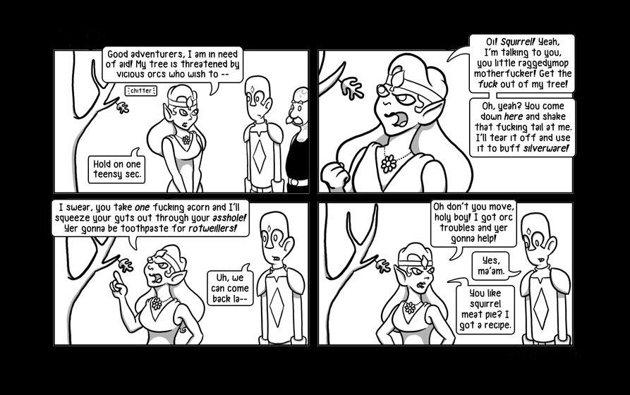 Fun with Dungeons & Dragons NamelessWebcomic01-04