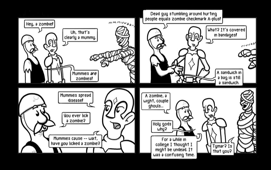 Fun with Dungeons & Dragons NamelessWebcomic01-05