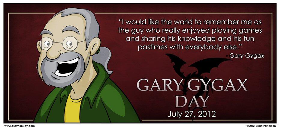 Fun with Dungeons & Dragons D20Monkey-GaryGygax