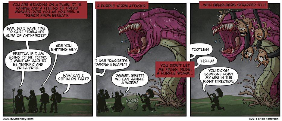 Fun with Dungeons & Dragons D20Monkey-KillerDM01