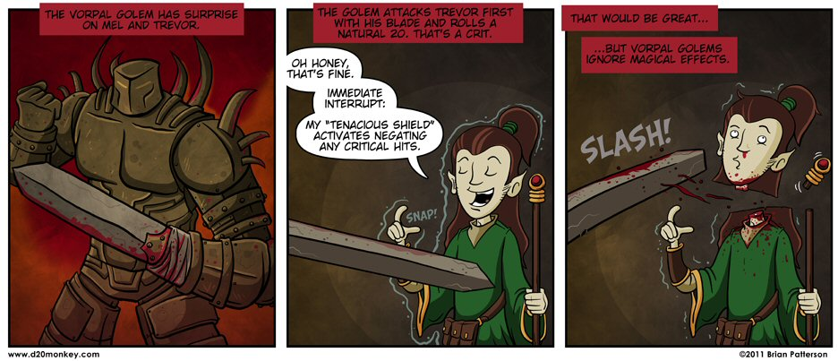 Fun with Dungeons & Dragons D20Monkey-KillerDM03